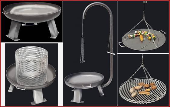 feuerschale und feuerstelle f r grill und garten schneider grillger te aus idar oberstein. Black Bedroom Furniture Sets. Home Design Ideas