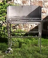 Multi-Kulti BBQ Grillwagen Basisversion