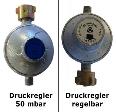 Druckregler Propangasflasche